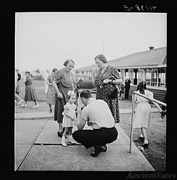 Members of the Strohl family at a family reunion in...