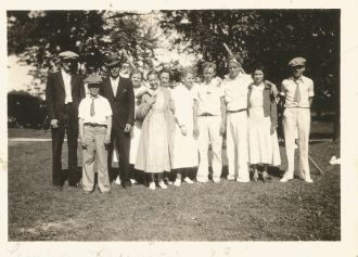 Walker family & friends,1934