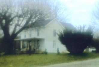 John H. and Sarah E. Penisten homestead