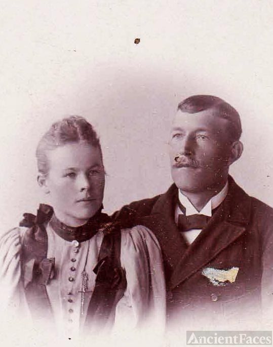 Wikstrom Couple from Norrkoping, Sweden