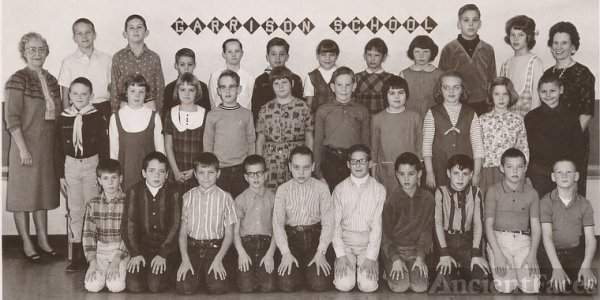 Garrison School class, Gr 4/5, Kinkaid,Thompson