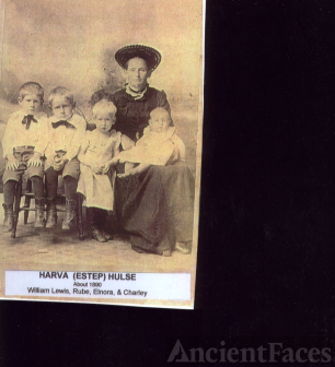 Harva [Estep] Hulse and Children
