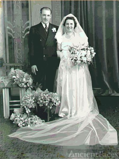 Reginald & Eugenia Burns wedding