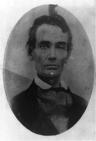 Abraham Lincoln, facing front]