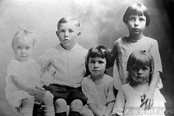 Bartley Children, Texas 1921