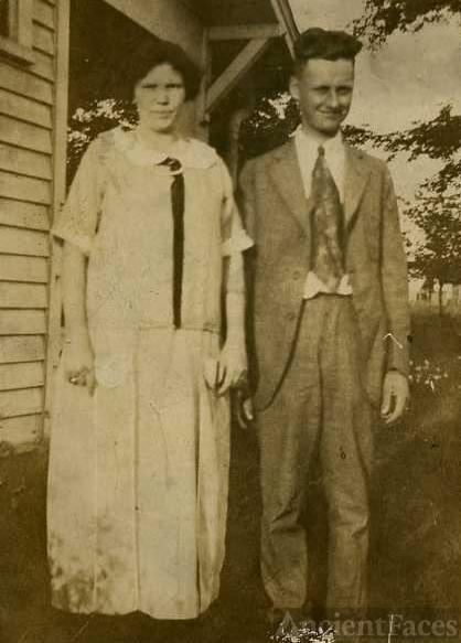 Flossie Curtis and frank Gracey Jarrell