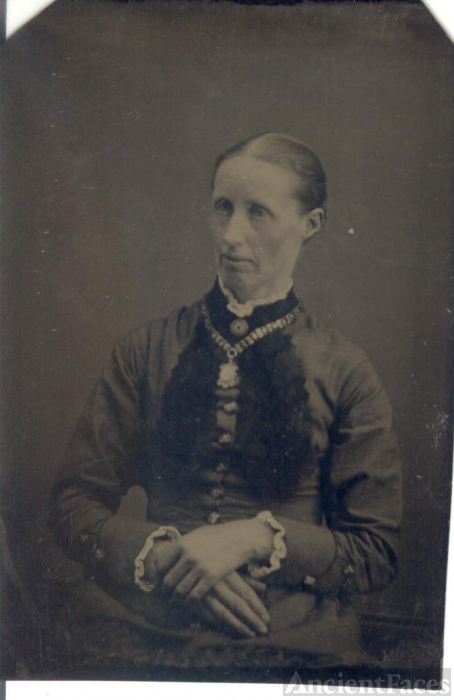 Clark or Hager Woman, IA c1880