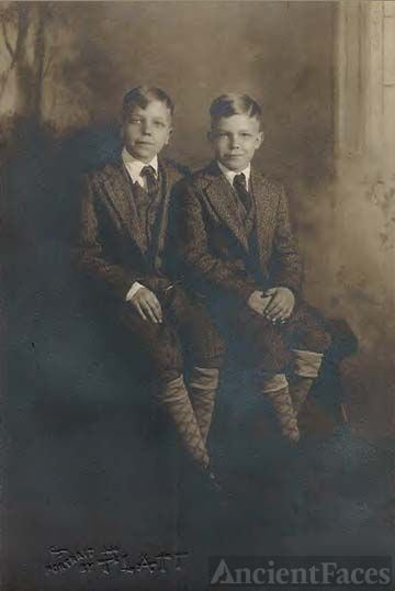 Maurice & Herman Leffew (youth)