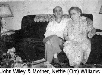 A photo of Nettie A. Orr  Williams