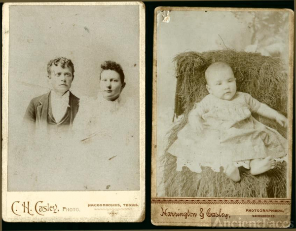 Couple and Child-Nacogdoches Co., Texas