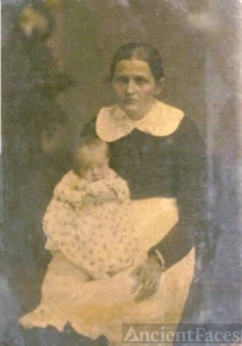 Martha Jane Petree Long & daughter, Eliza