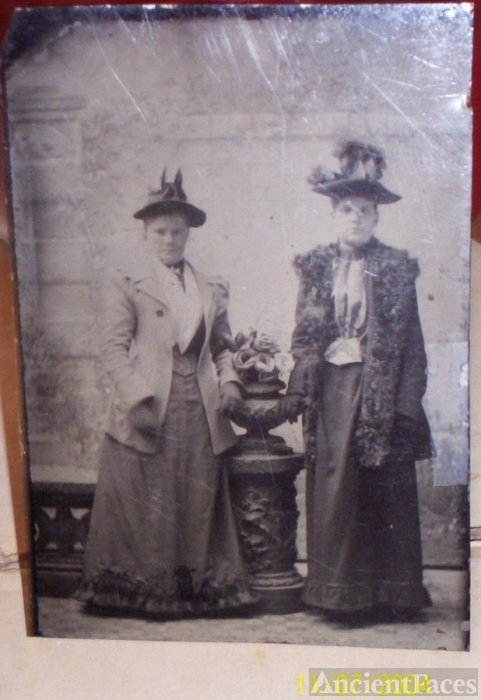 Two women, Any relation to you?