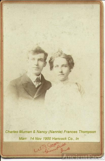 Charles Murnan & Nancy Frances Thompson