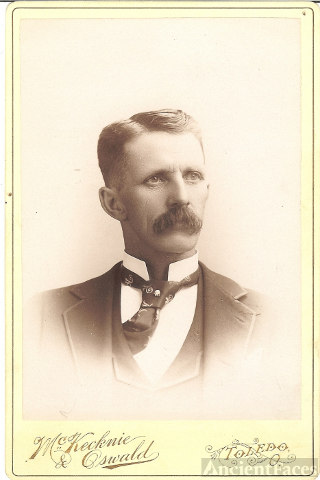 M. A. Loop, Railroad Conductor