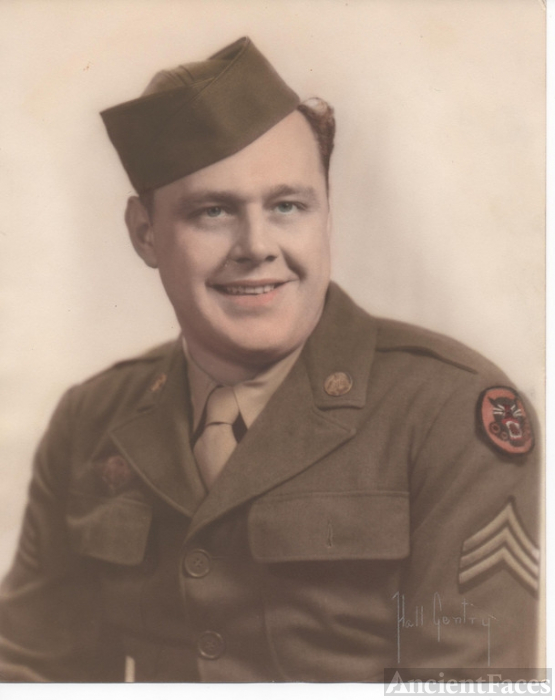 Clyde Eugene Gray, US Army