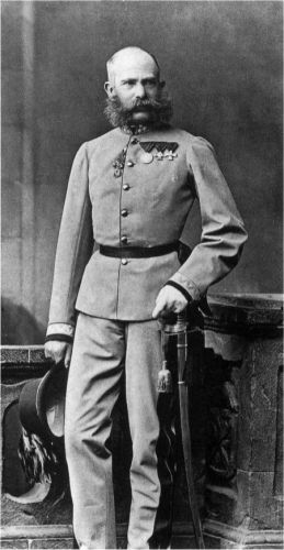 A photo of Franz Joseph I of Austria