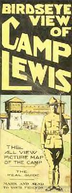 Front Cover of Picture Map of Camp Lewis