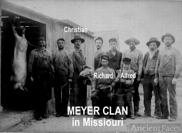 Meyer Clan In Mo.
