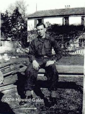 Cpl. John Howard Gates