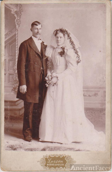 Mr. & Mrs. Beckstan, Minnesota 1895