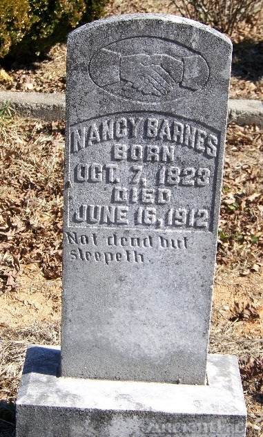 Nancy Barnes Gravesite