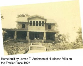 Jas T. Anderson's home