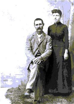 Edgar Mayhew & wife, New England