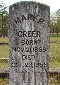 Mary L. Greer-gravestone