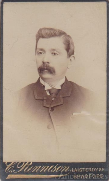 Laisterdyke, Bradford England, unknown Man