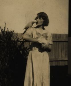 Dorothy and her Parrot