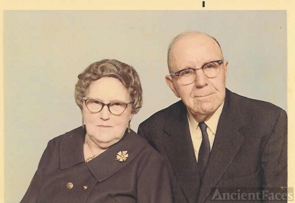 Elsie (Carr) & John I. Tyree In Their Later Years