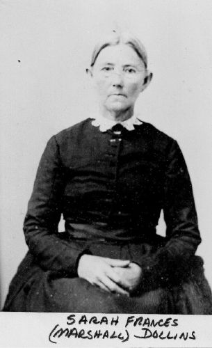 SARAH FRANCES MARSHALL DOLLINS