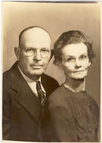 A photo of Alfred and Martha  Durnil