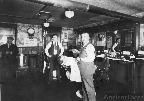 Al Morrett's Barber Shop, Pennsylvania