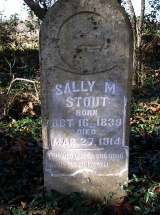 A photo of Sally M. Stout