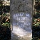 Stout, Sally M.-Tombstone