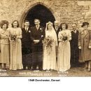 Cliff Marler & Elsie Body wedding