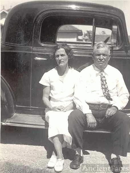 Cora Cantrell & William Pinkney Hightower