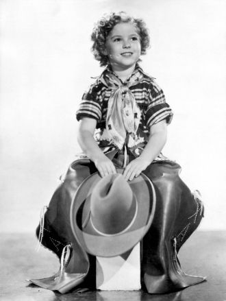 A photo of Shirley Jane Temple