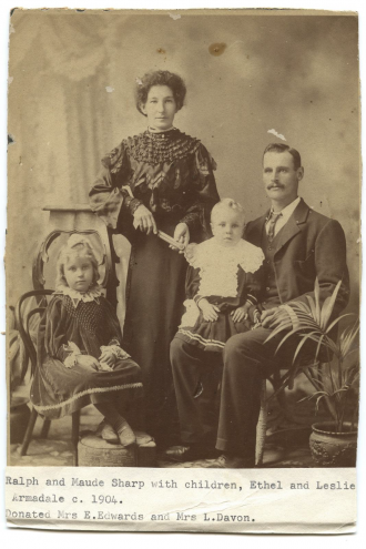 Ralph & Ethel Maud Sharp family
