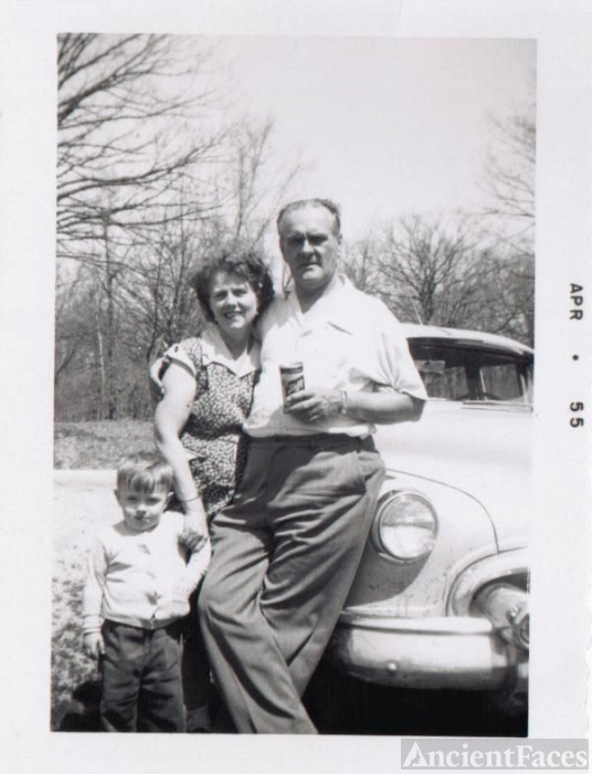 Mildred, Charles & son, Jack