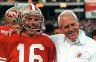 A photo of Joe Montana