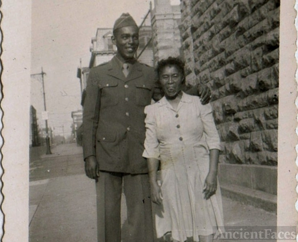 Melvin & Althia Reed, New York 1940's