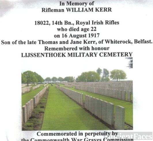 William Kerr gravesite