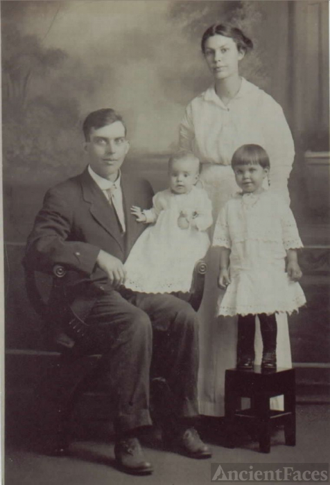 James Louis & Pearl Binkley Family