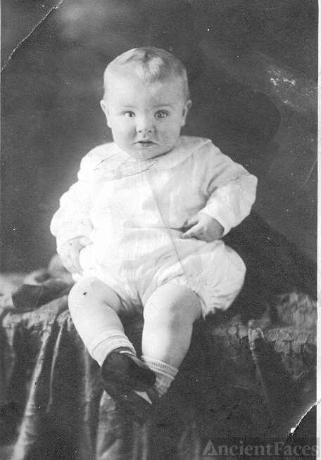 Bill Cox, baby picture