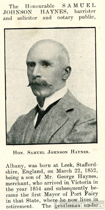 Samuel Johnson Haynes