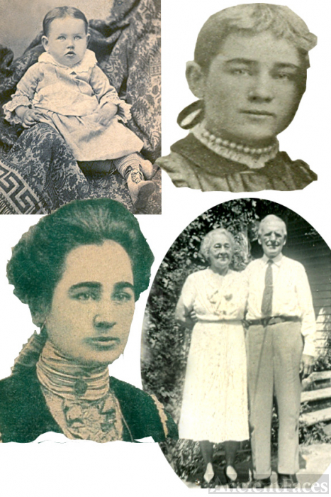 Virginia Alberta Webb --collage