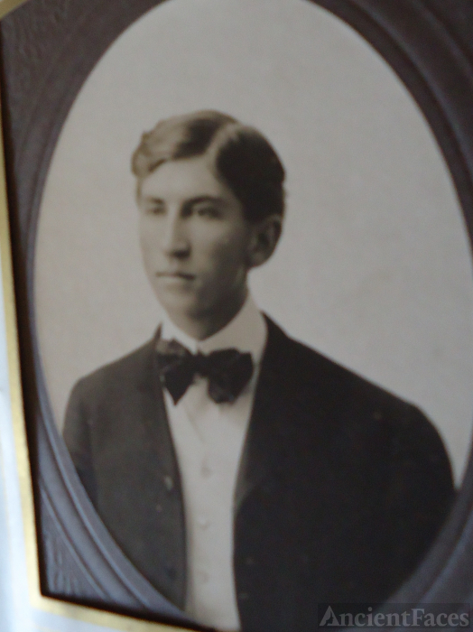 unknown young man 1900
