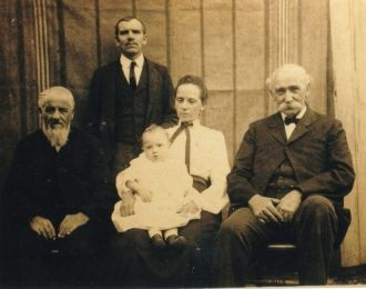 Jacob Henry Sapp and Family